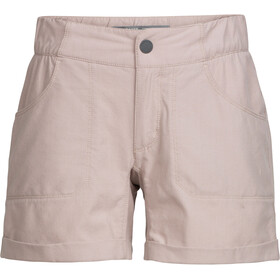 Icebreaker Connection Shorts Dame pumice